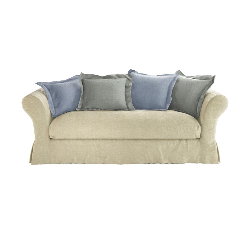Sofa 3 4 Sitzer Nicht Ausziehbar Korpus Cam L On Cam L On Maisons Du Monde