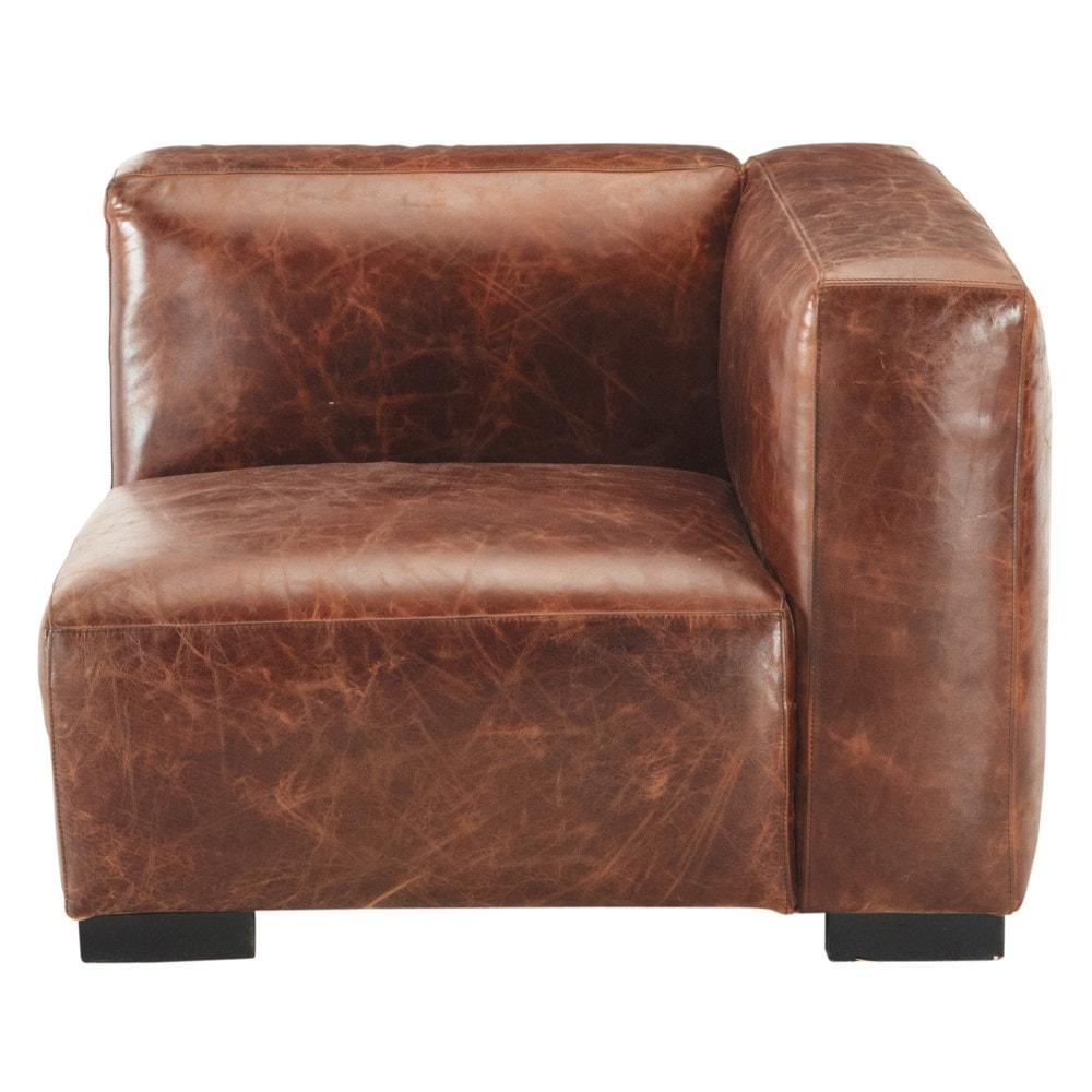 Wundervoll Couch Leder Braun Dekoration Von Elegant Best Rechts Aus John With Sofa