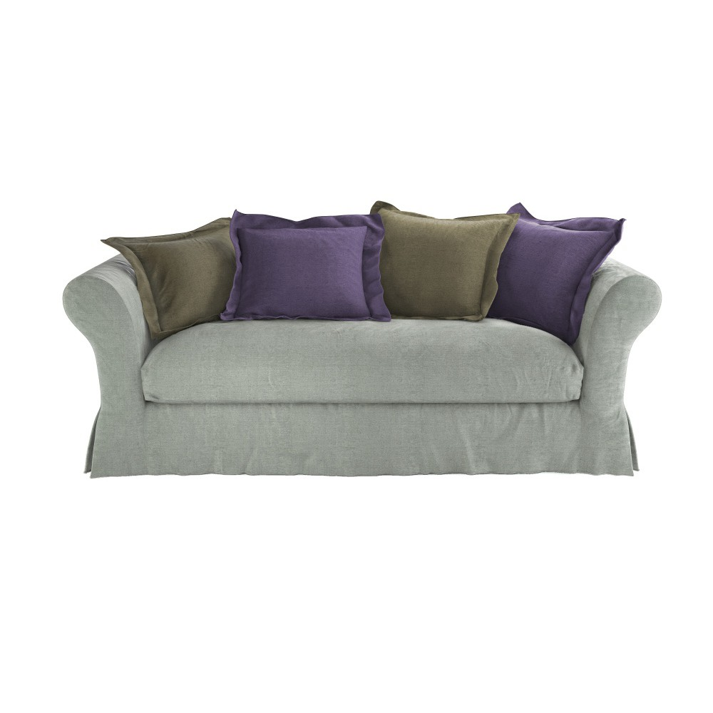 sofa bed with frame seats 3 4 233 l 233 on maisons du monde