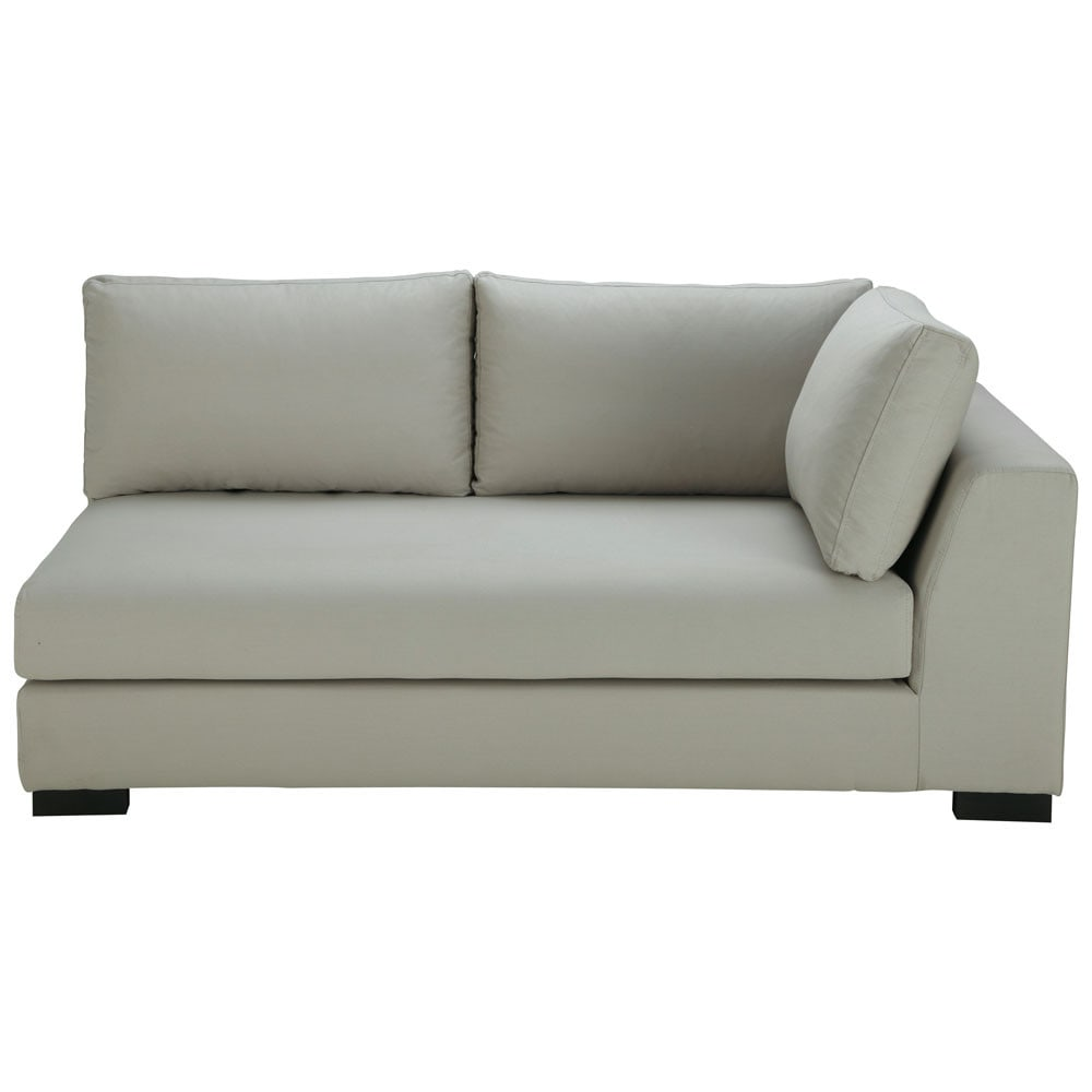 algodón gris claro para un salón ideal nada mejor que el sofá gris