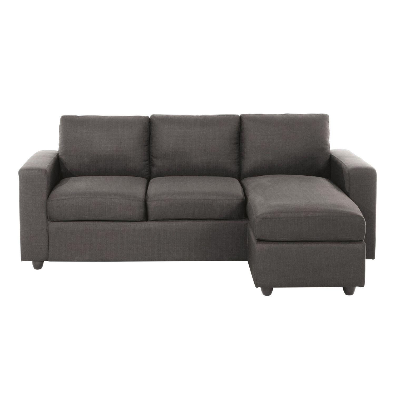 Sofa Esquinero Modular De 3 Plazas Gris Jules Maisons Du Monde