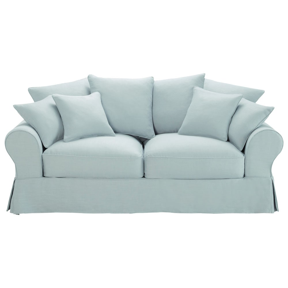 Blue grey sofa for Blue grey couch