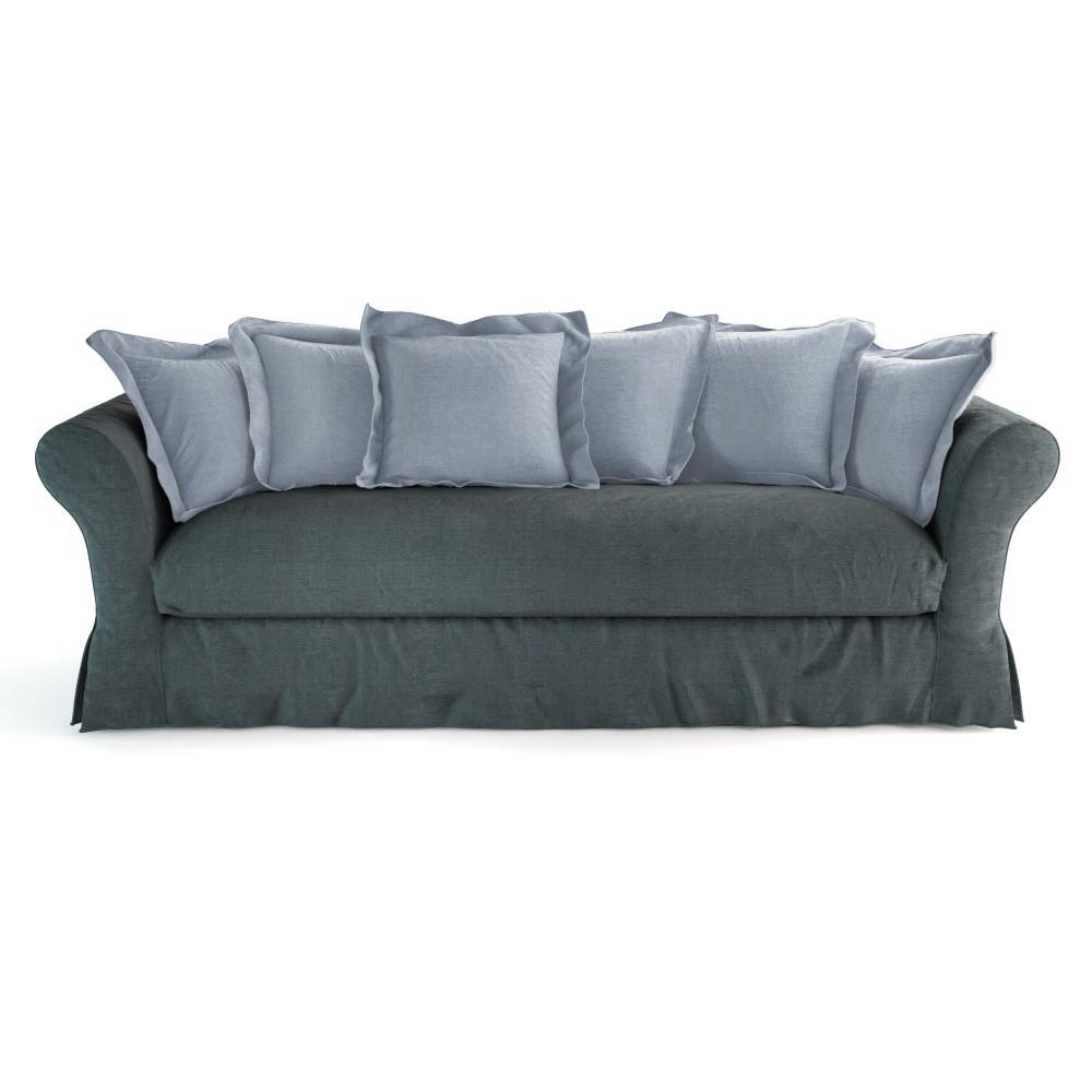 sofa with frame seats 4 5 cam l on cam l on maisons. Black Bedroom Furniture Sets. Home Design Ideas