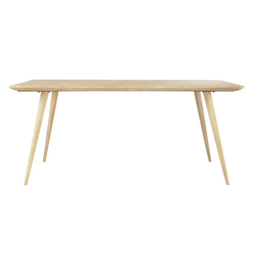 solid mango wood dining table w 175cm trocadero maisons du monde. Black Bedroom Furniture Sets. Home Design Ideas