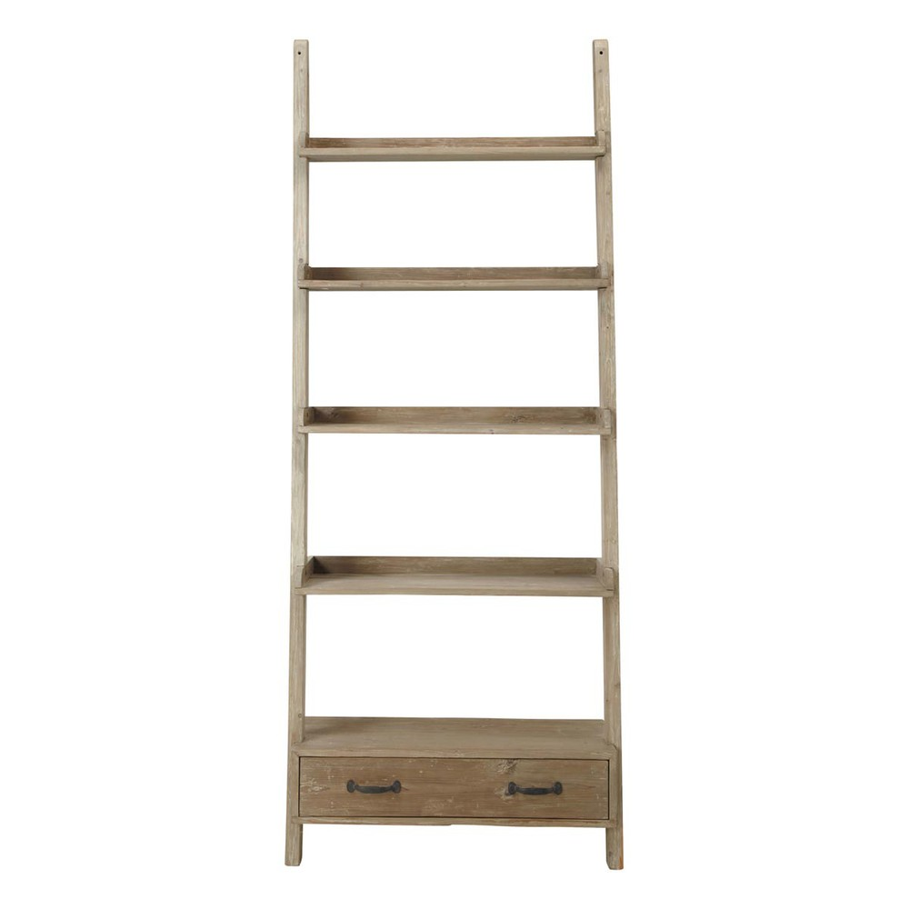solid recycled wood shelf unit w 94cm varenne maisons du monde. Black Bedroom Furniture Sets. Home Design Ideas