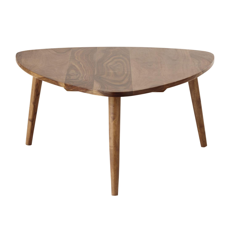 Solid Sheesham Wood Vintage Coffee Table Andersen Maisons Du Monde