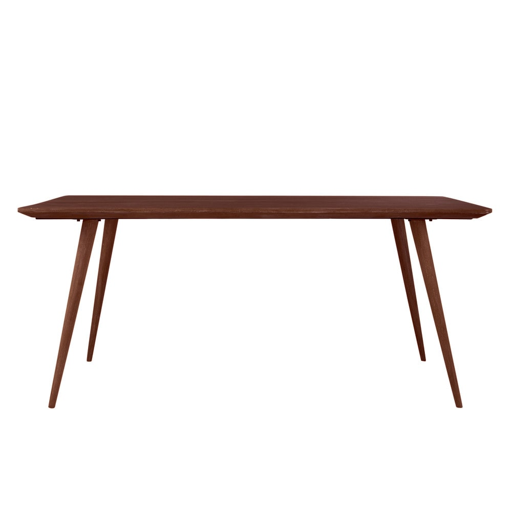 Retro Dining Tables Solid Sheesham Wood Vintage Dining Table W 175cm Andersen