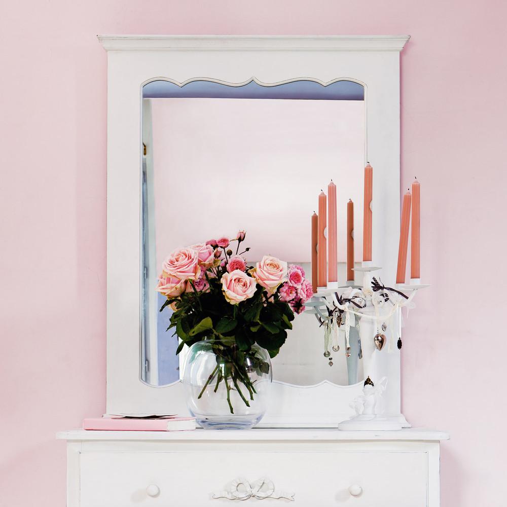 Specchio bianco no mie maisons du monde - Specchio shabby maison du monde ...