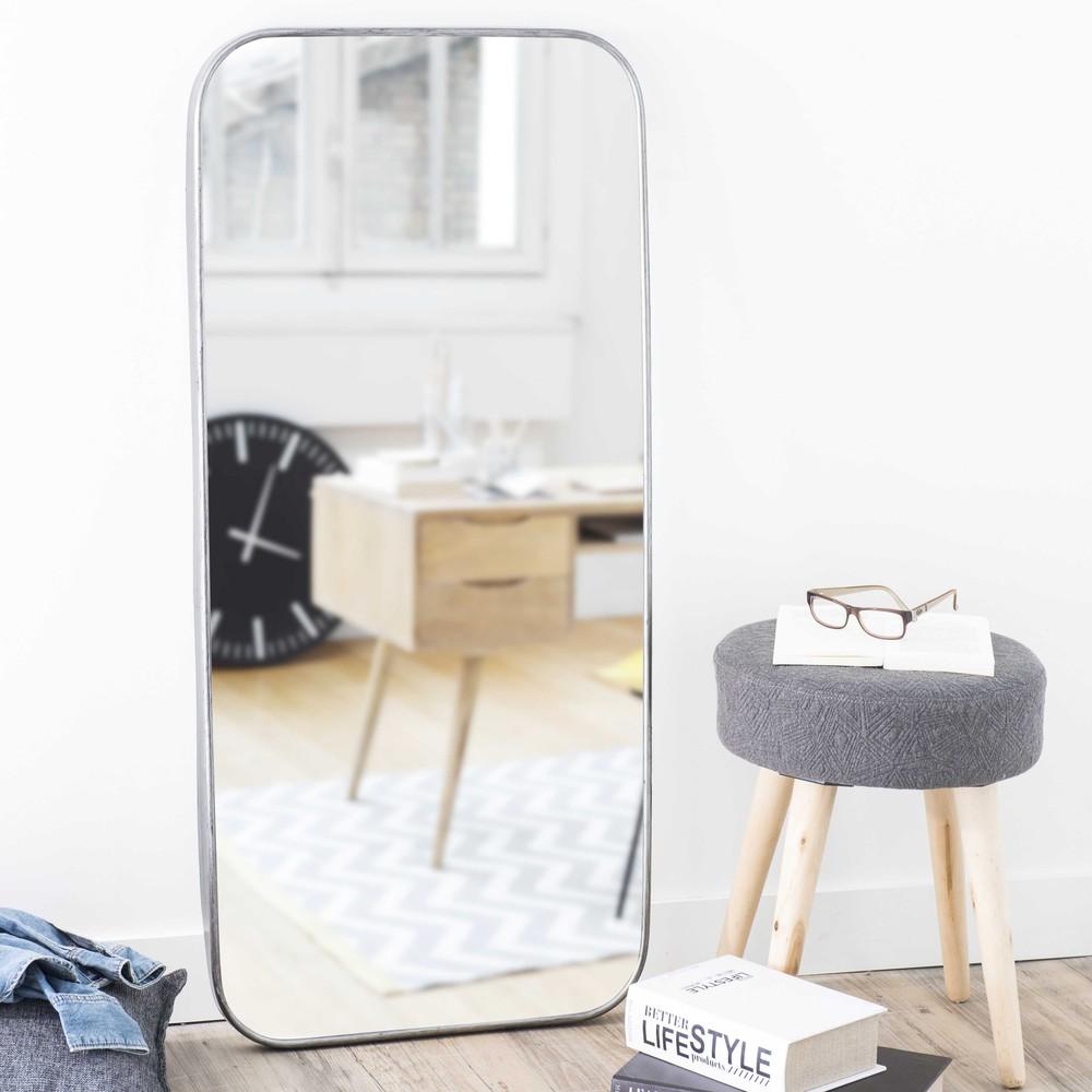 spiegel aus metall h 110 cm parker maisons du monde. Black Bedroom Furniture Sets. Home Design Ideas