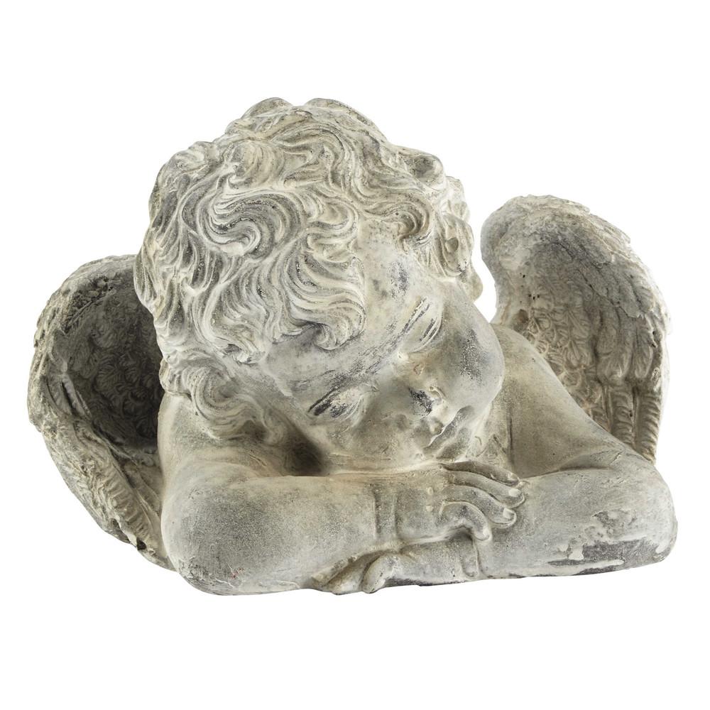 statue ange en r sine h 19 cm germain maisons du monde. Black Bedroom Furniture Sets. Home Design Ideas