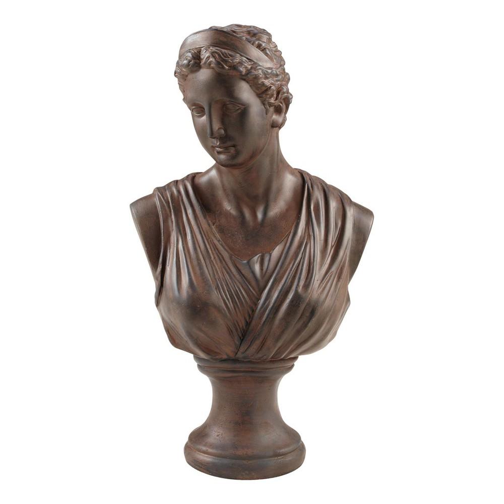 statue buste femme ath mise maisons du monde. Black Bedroom Furniture Sets. Home Design Ideas