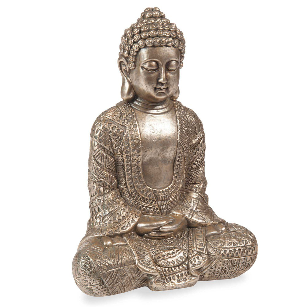 statuette bouddha h 23 cm kibungo maisons du monde. Black Bedroom Furniture Sets. Home Design Ideas