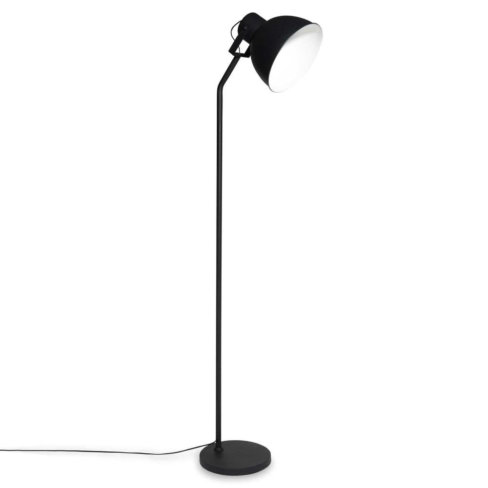 stehlampe aus schwarzem metall colin maisons du monde. Black Bedroom Furniture Sets. Home Design Ideas