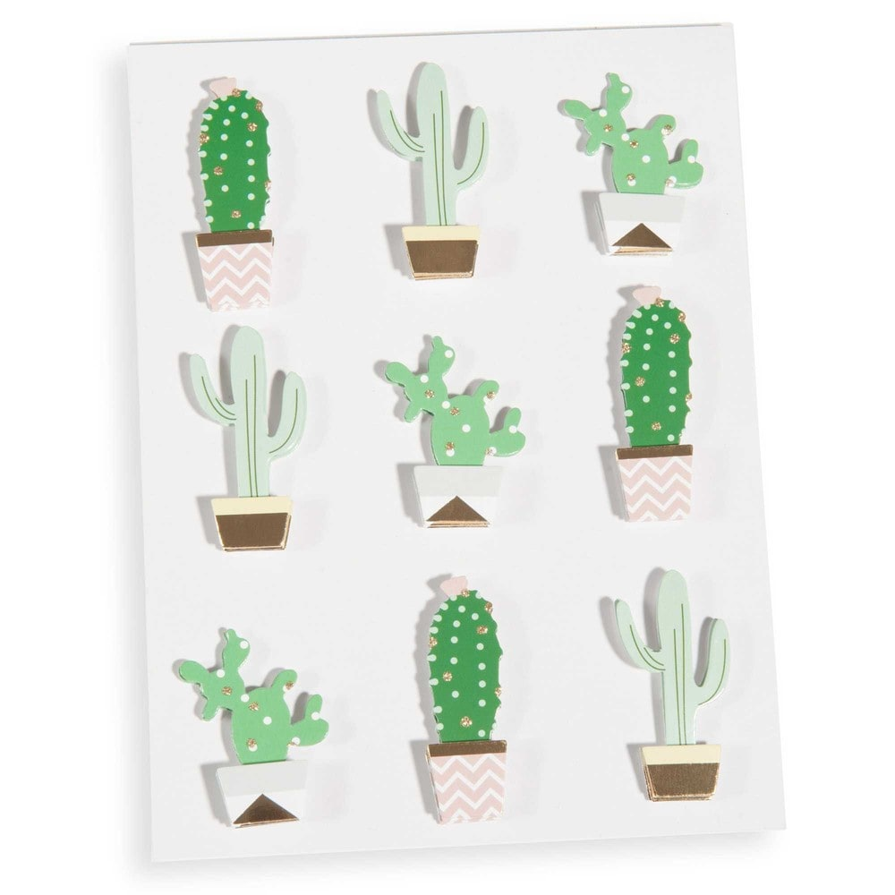 stickers cactus urban maisons du monde. Black Bedroom Furniture Sets. Home Design Ideas