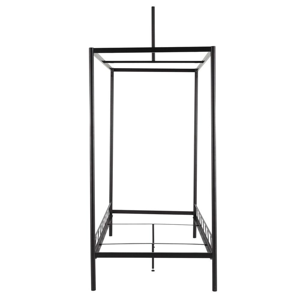 structure lit enfant 90 x 190 cm en m tal auvent maisons. Black Bedroom Furniture Sets. Home Design Ideas