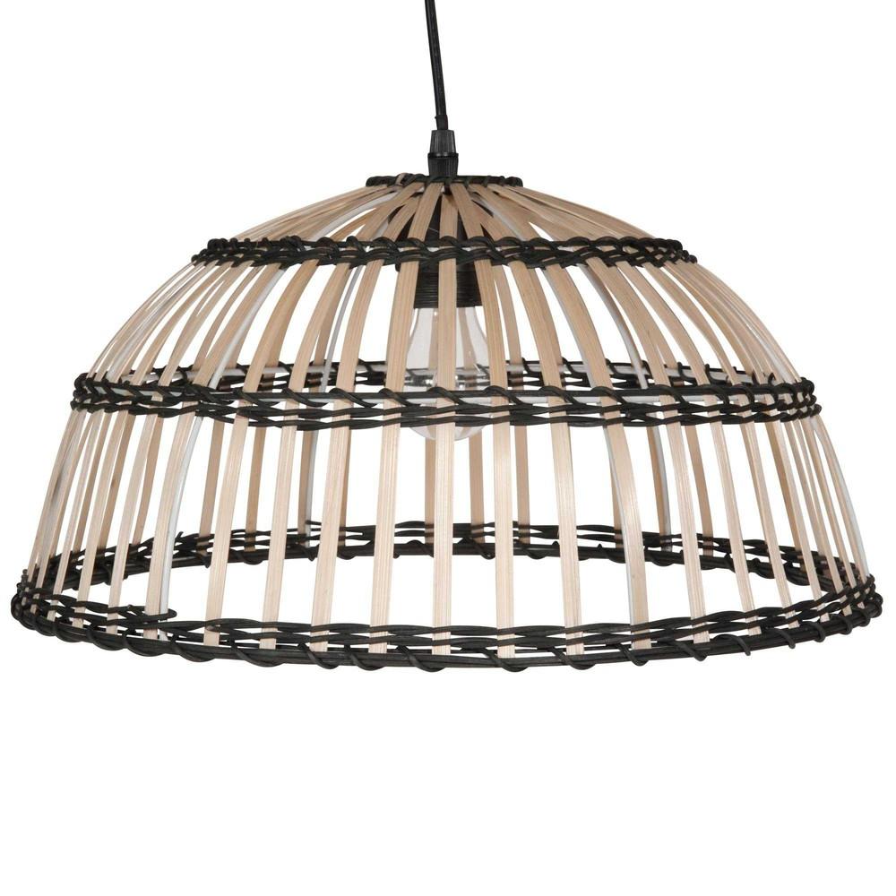 suspension en bambou bicolore ferret maisons du monde. Black Bedroom Furniture Sets. Home Design Ideas