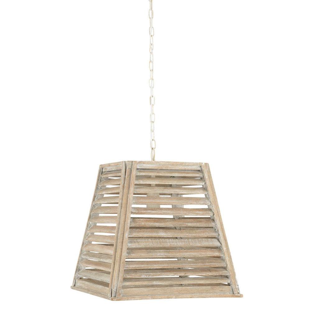 suspension en bois l 40 cm hannah maisons du monde. Black Bedroom Furniture Sets. Home Design Ideas