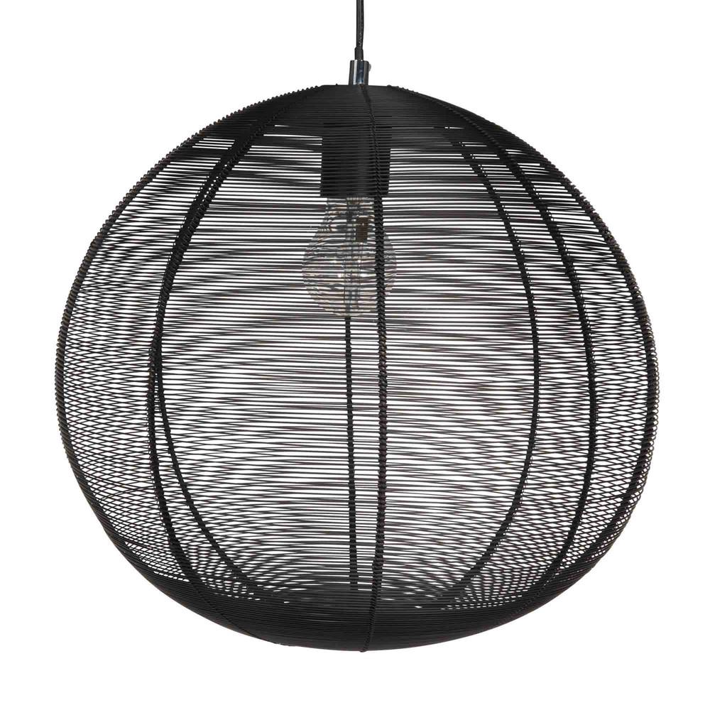 suspension en fil de m tal noir kartala maisons du monde. Black Bedroom Furniture Sets. Home Design Ideas