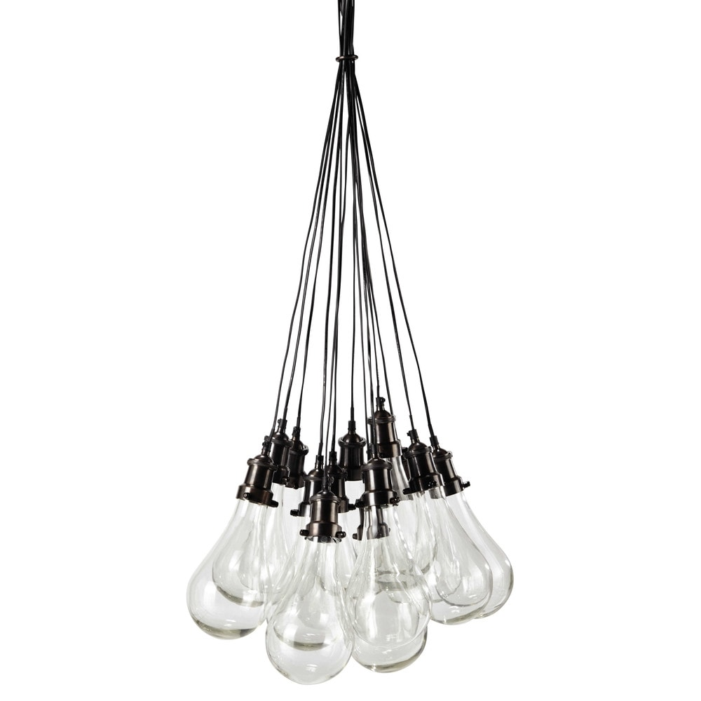Suspension en verre d 45 cm diderot maisons du monde - Maison du monde suspension ...