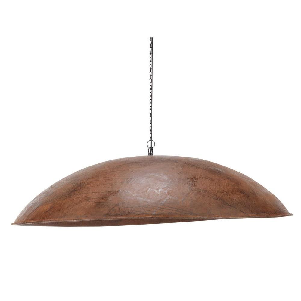 suspension indus en m tal effet rouille d 96 cm escale. Black Bedroom Furniture Sets. Home Design Ideas