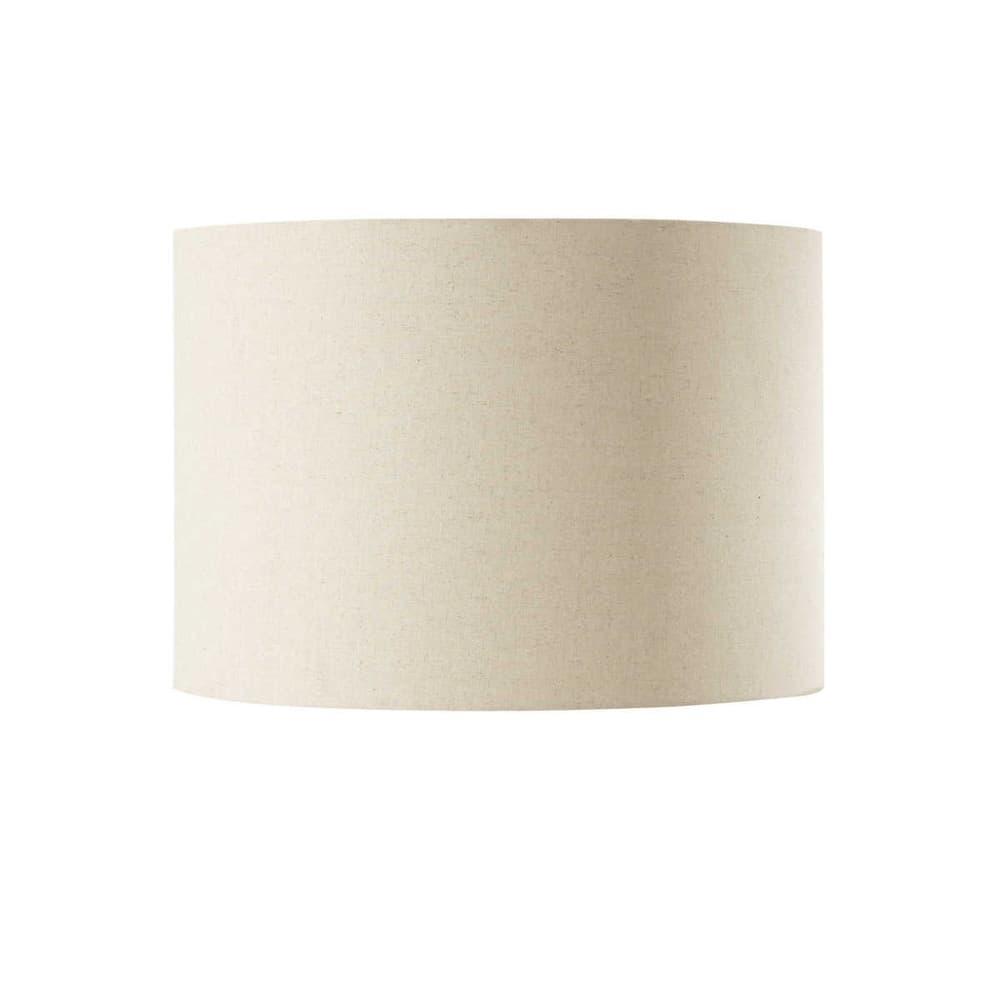 suspension non lectrifi e en coton beige d 50 cm tambour maisons du monde. Black Bedroom Furniture Sets. Home Design Ideas