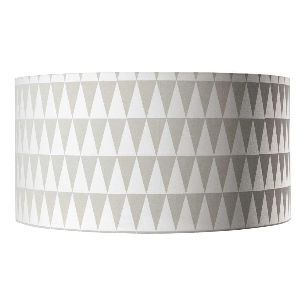 suspension non lectrifi e en coton blanche grise d 50 cm nordic maisons du monde. Black Bedroom Furniture Sets. Home Design Ideas