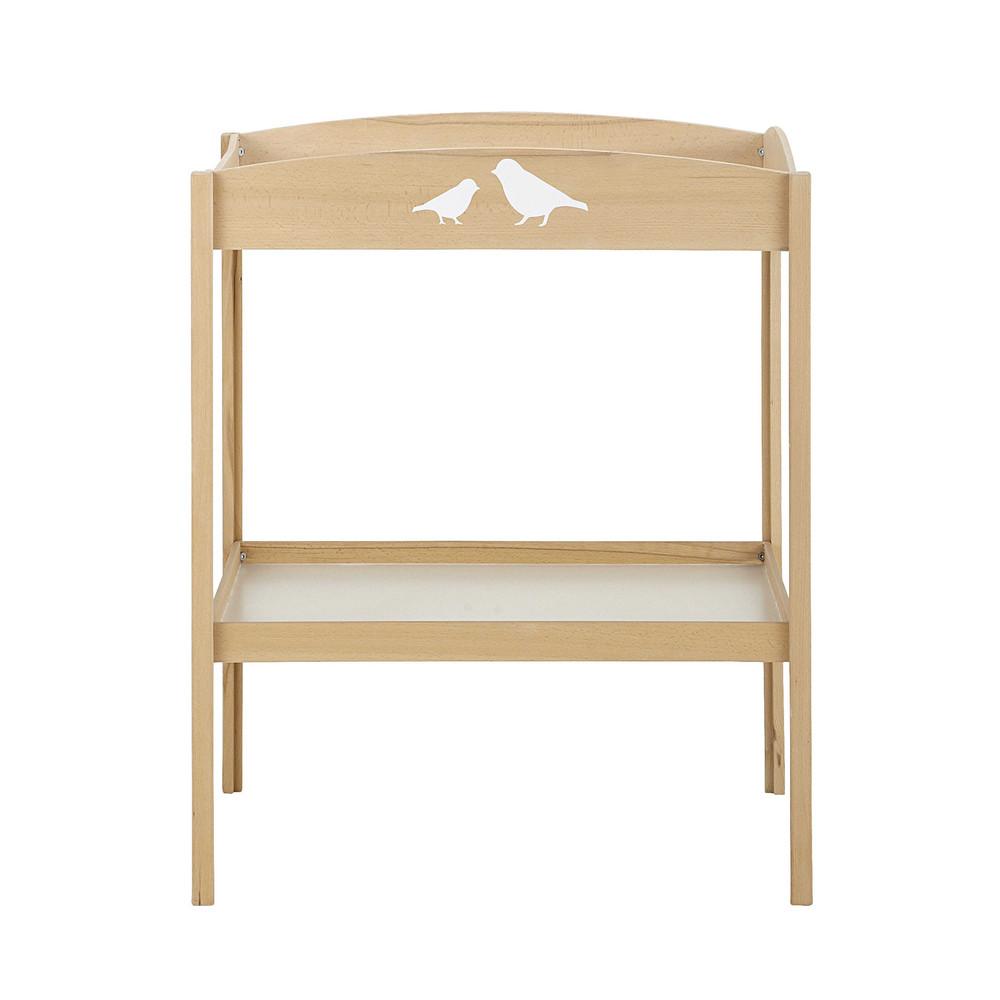 Table langer en bois l 80 cm lapinou maisons du monde - Plateau table a langer ...