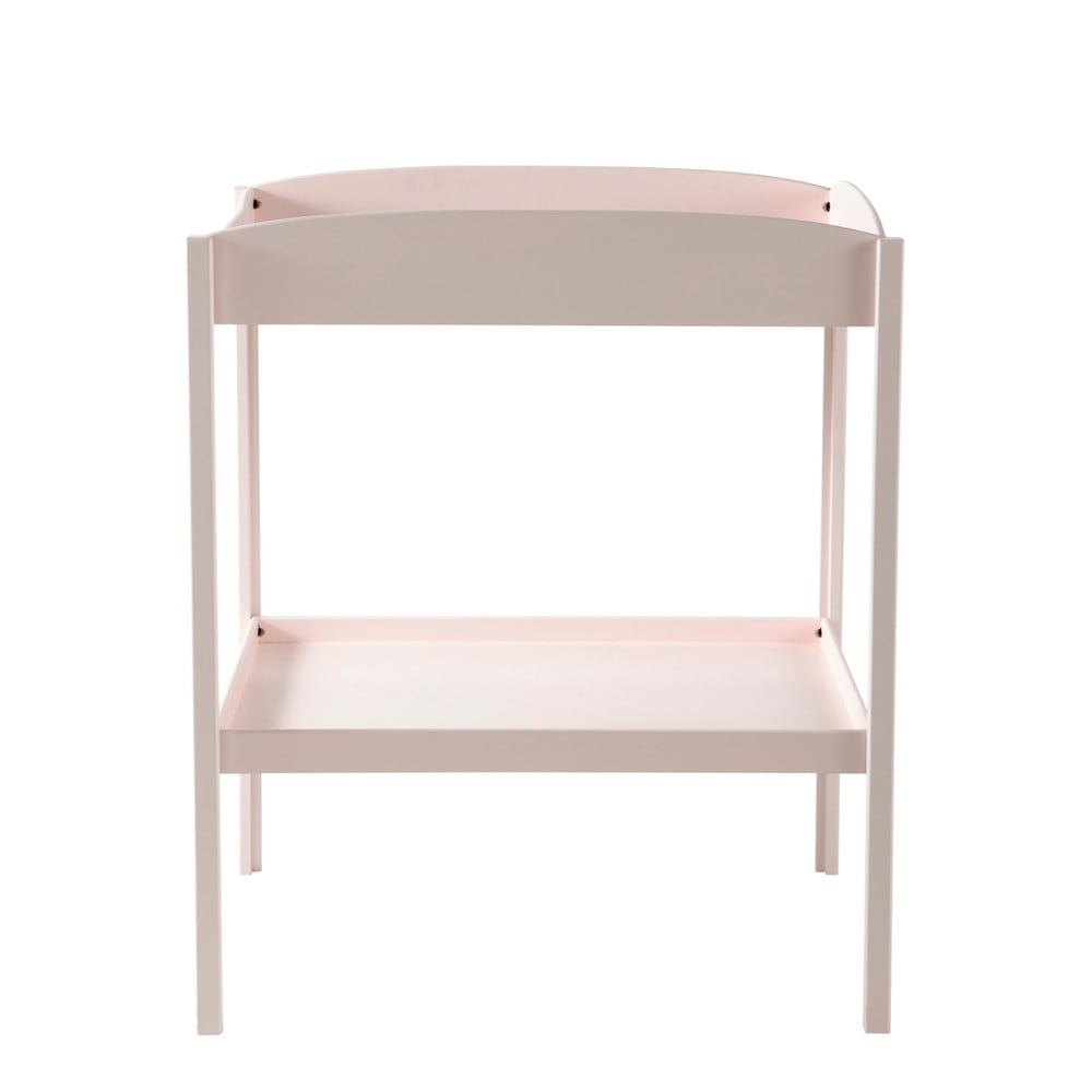 table langer rose l 80 cm pastel maisons du monde. Black Bedroom Furniture Sets. Home Design Ideas
