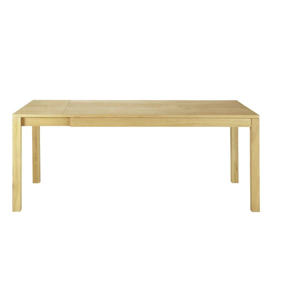Table manger extensible 8 10 personnes en ch ne l200 for Table extensible 2 a 8 personnes