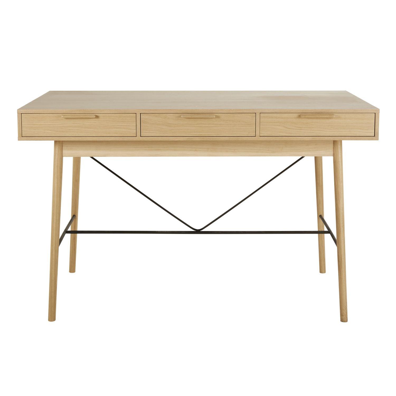 9897f5a6b77673 Table à manger haute 6 tiroirs 4 6 personnes L160 Workshop   Maisons du  Monde