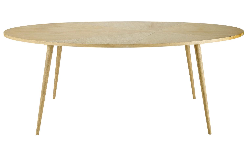 Table à Manger Ovale 8 Personnes L200 Origami Maisons Du Monde