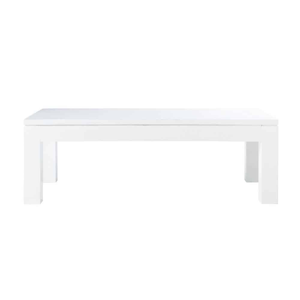 Table basse 120 cm pure maisons du monde - Table basse blanche maison du monde ...
