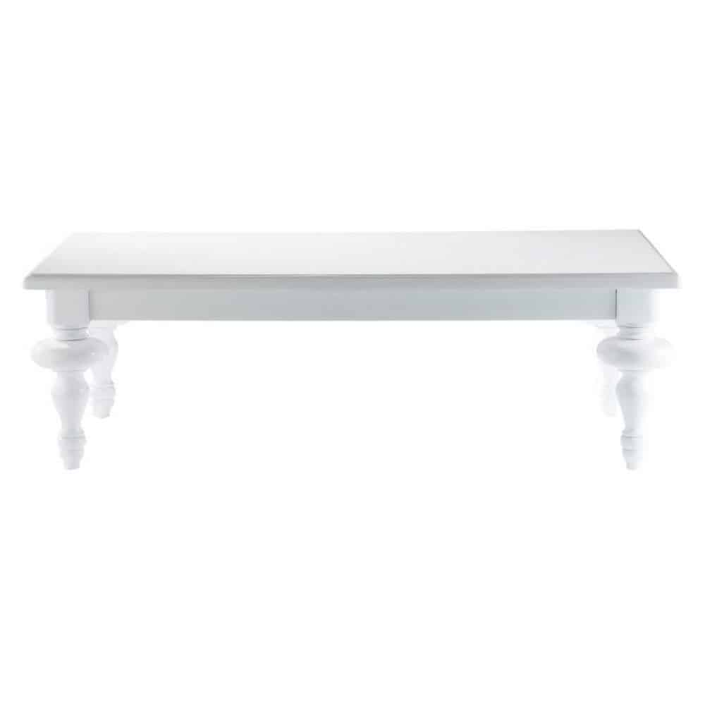 table basse blanche barocco maisons du monde. Black Bedroom Furniture Sets. Home Design Ideas