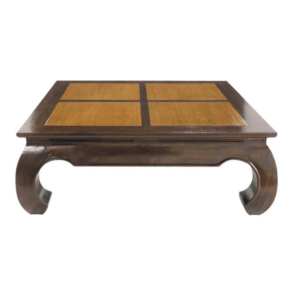 Table basse carrée Bamboo | Maisons du Monde