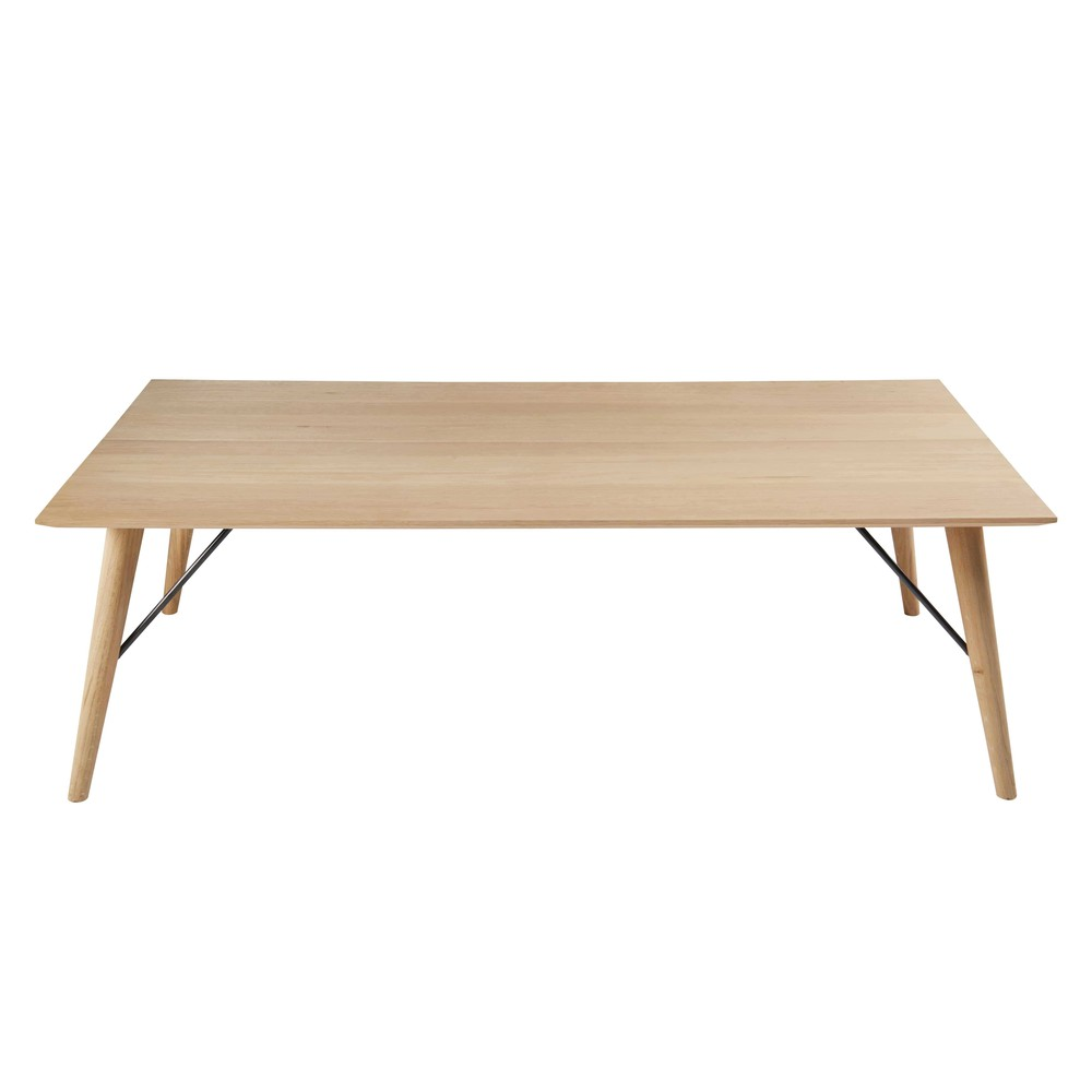 table basse en ch ne massif fran ais keops maisons du monde. Black Bedroom Furniture Sets. Home Design Ideas