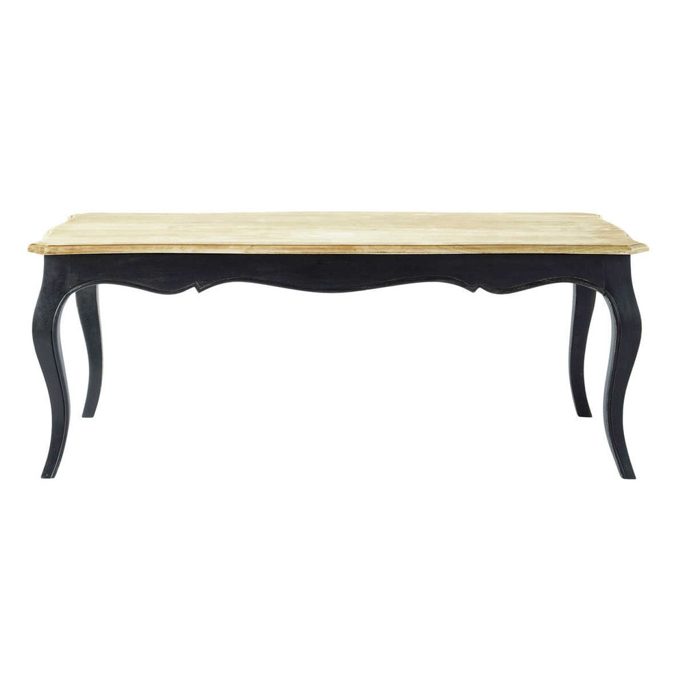 table basse en manguier massif l 120 cm versailles. Black Bedroom Furniture Sets. Home Design Ideas