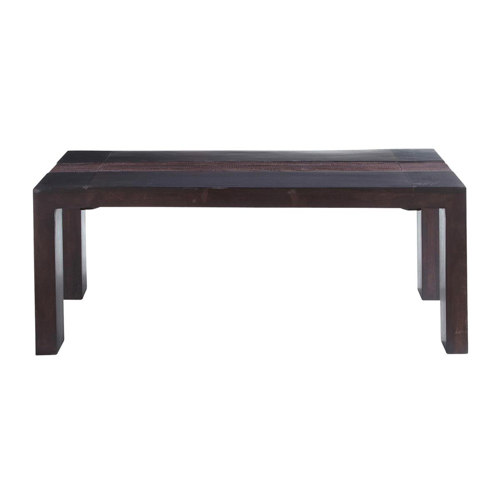 Table basse exotique rectangulaire java maisons du monde - La maison du monde table basse ...
