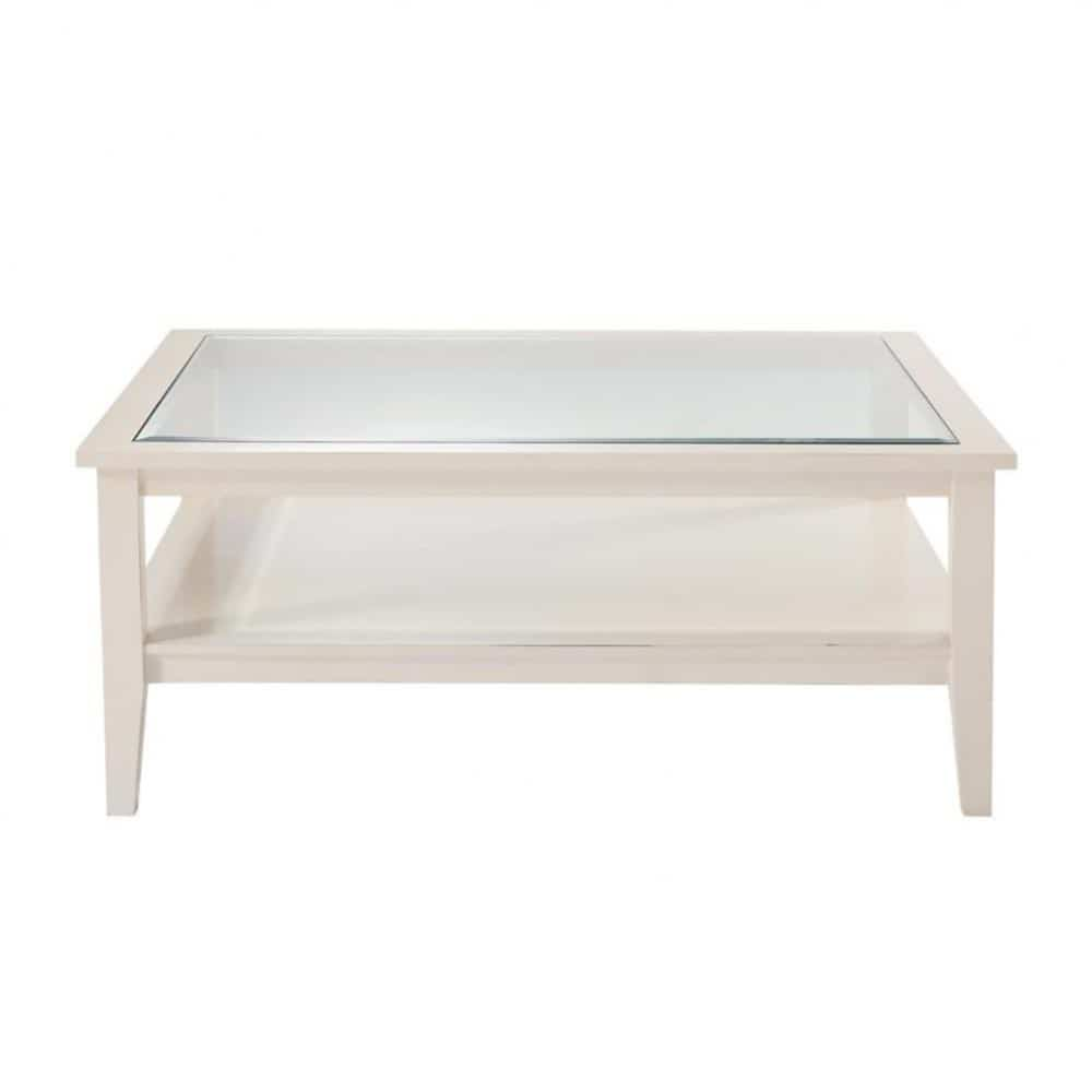 Table basse ivoire gustavia maisons du monde - Maison du monde table basse de salon ...