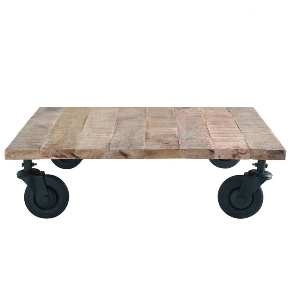 table basse loft maisons du monde. Black Bedroom Furniture Sets. Home Design Ideas