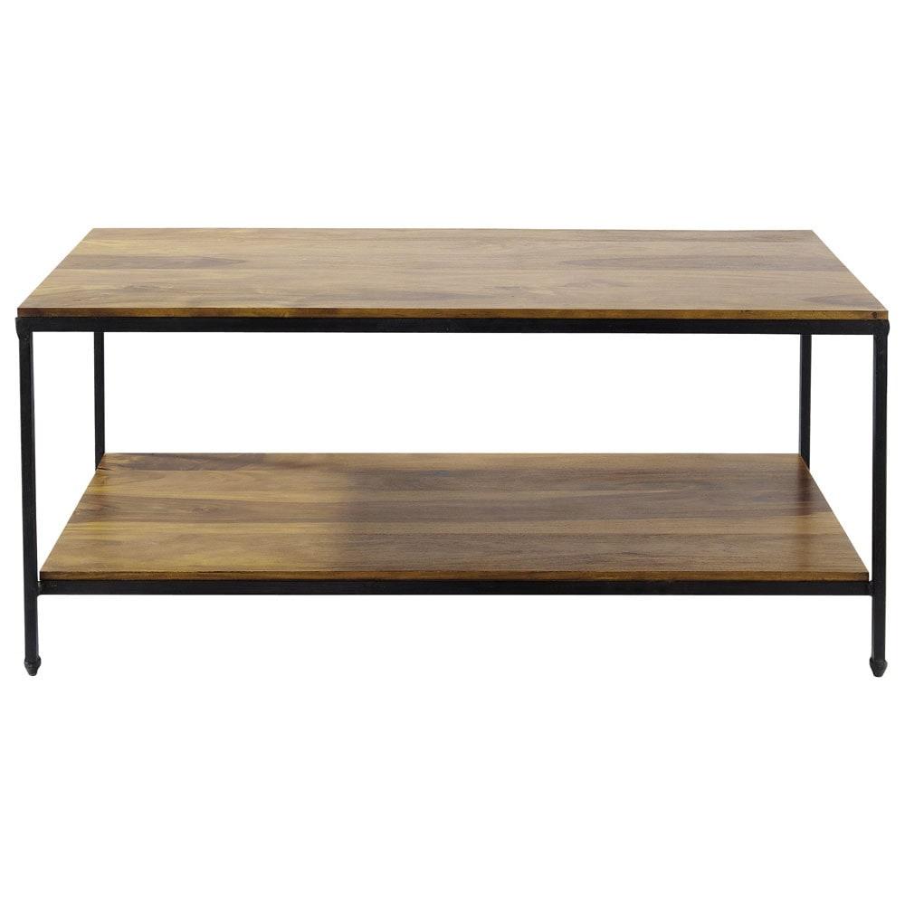 table basse avec pouf maison du monde. Black Bedroom Furniture Sets. Home Design Ideas