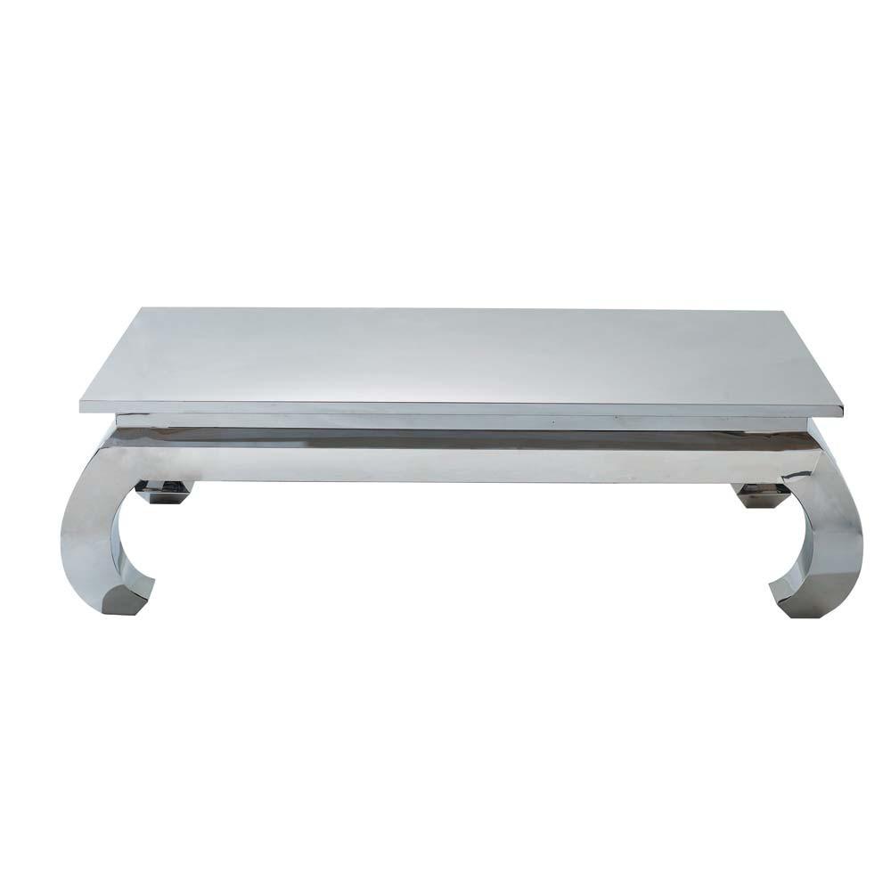 Superbe Table Basse Opium Maison Du Monde #6: Opium Chrome Table Basse