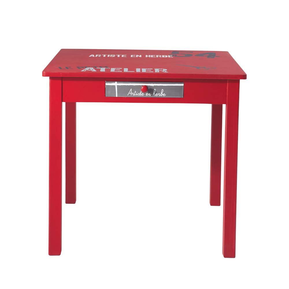 Table basse petit atelier maisons du monde - Petite table maison du monde ...
