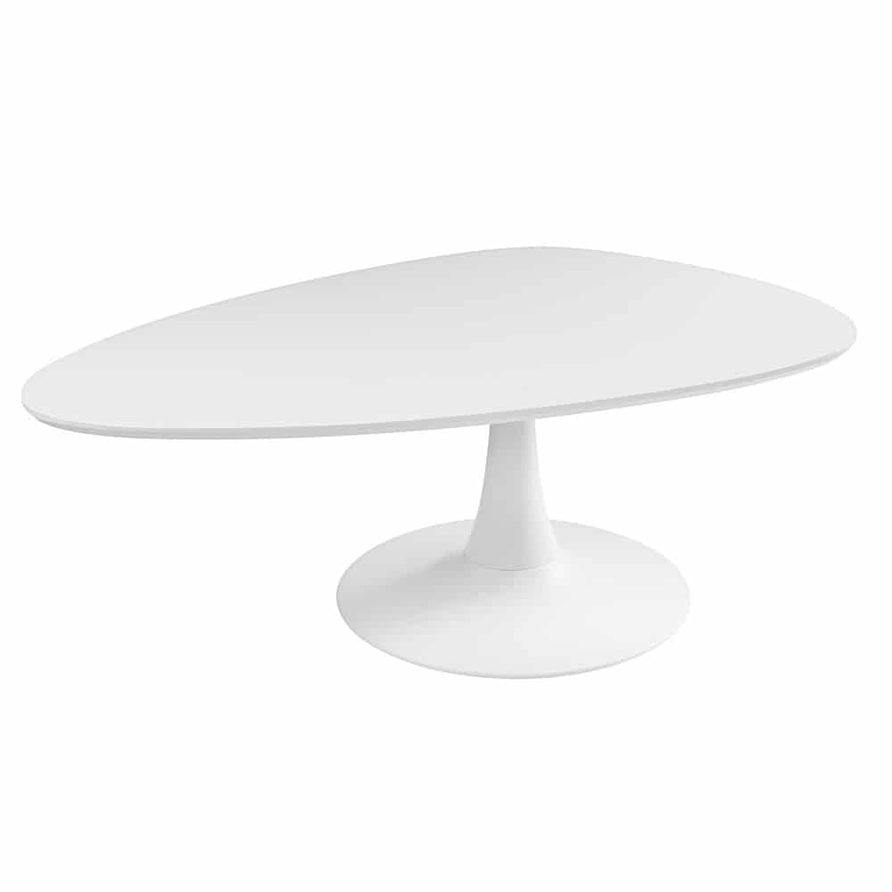 Table Basse Vintage Blanche Twiggy Maisons Du Monde