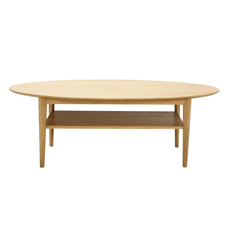 Table Basse Vintage Ovale Elwood Maisons Du Monde