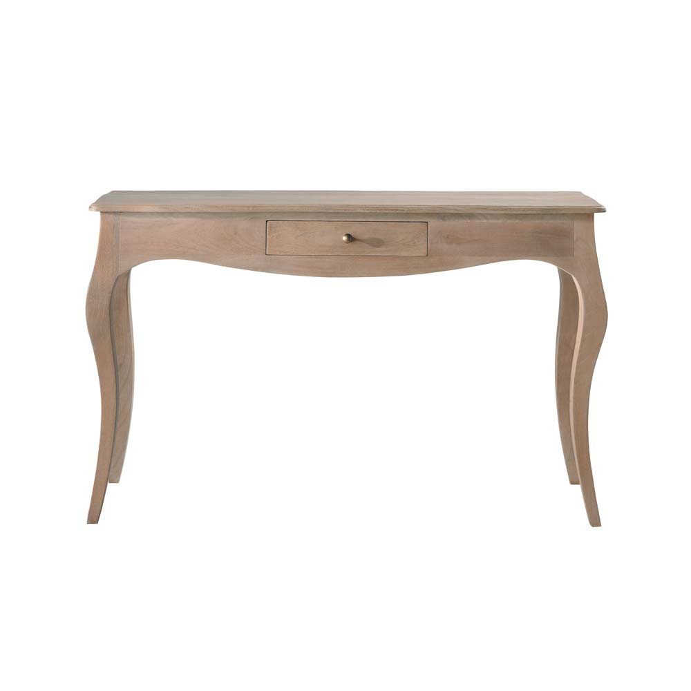 table console en manguier l 130 cm colette maisons du monde. Black Bedroom Furniture Sets. Home Design Ideas