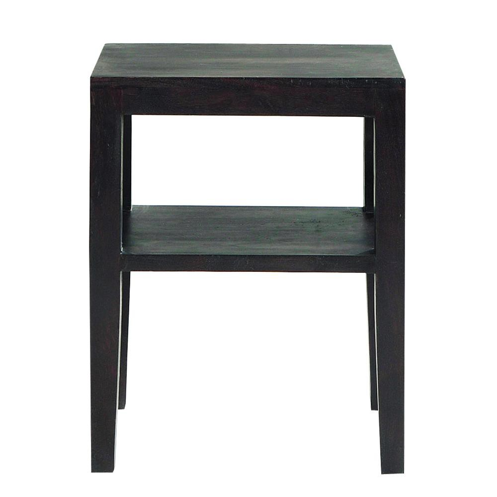 table de chevet en acacia massif weng l 45 cm goa maisons du monde. Black Bedroom Furniture Sets. Home Design Ideas