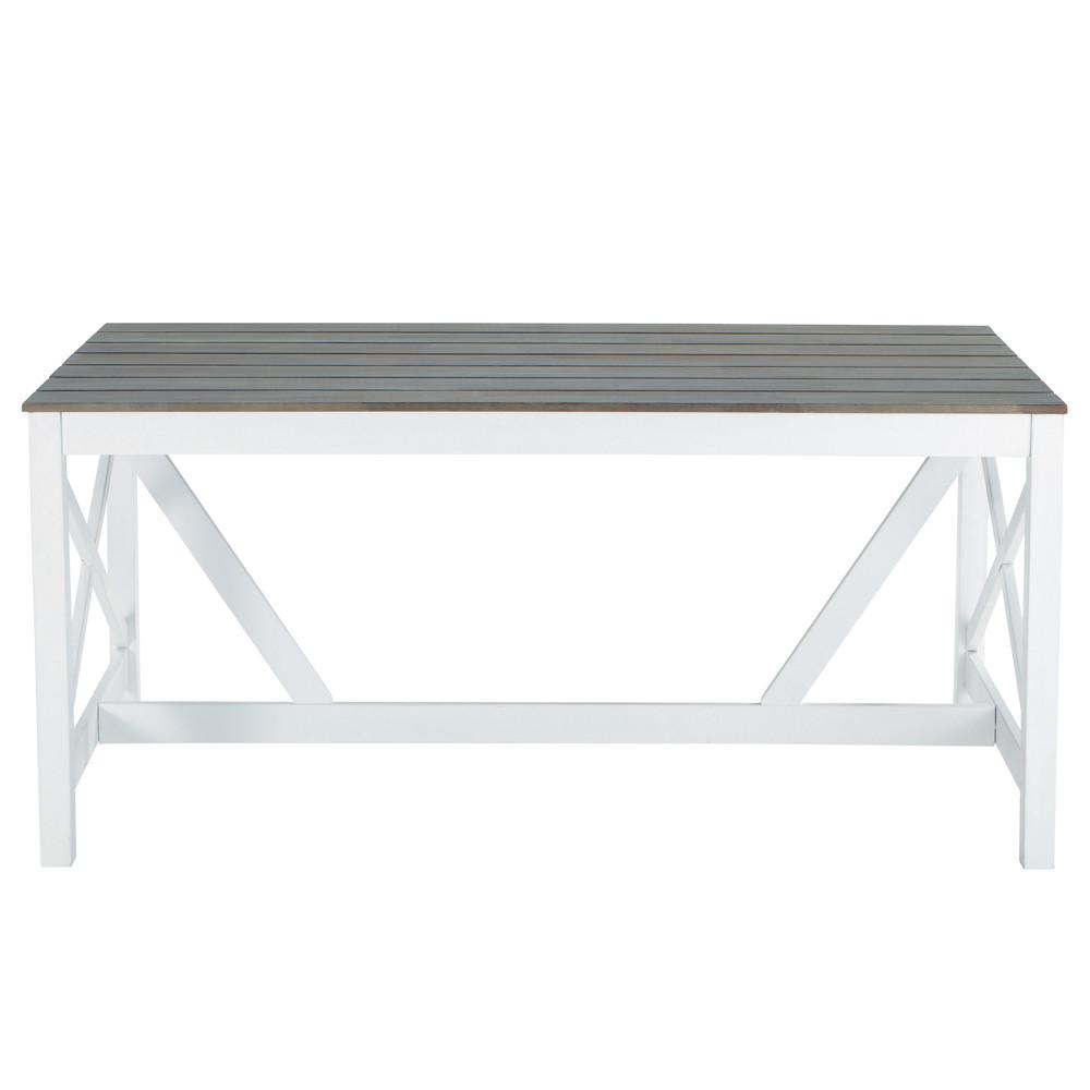 Table jardin blanche maison du monde des id es int ressantes - Table jardin blanche ...