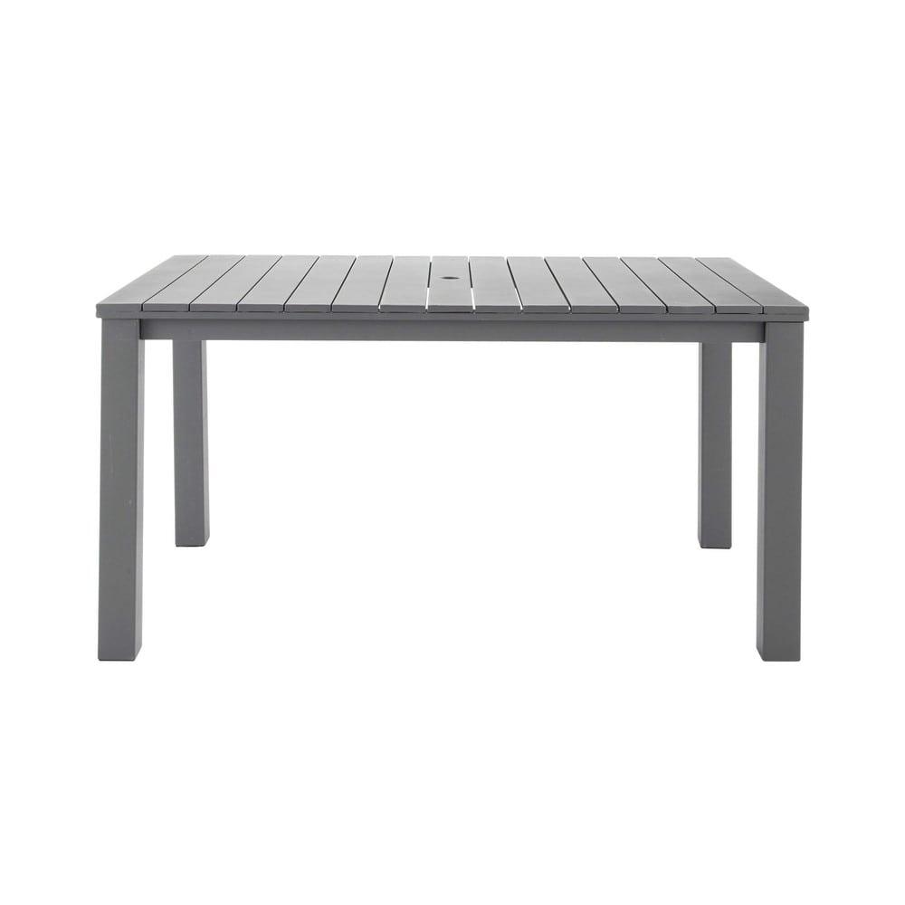 table de jardin en m tal l 150 cm la ciotat maisons du monde. Black Bedroom Furniture Sets. Home Design Ideas