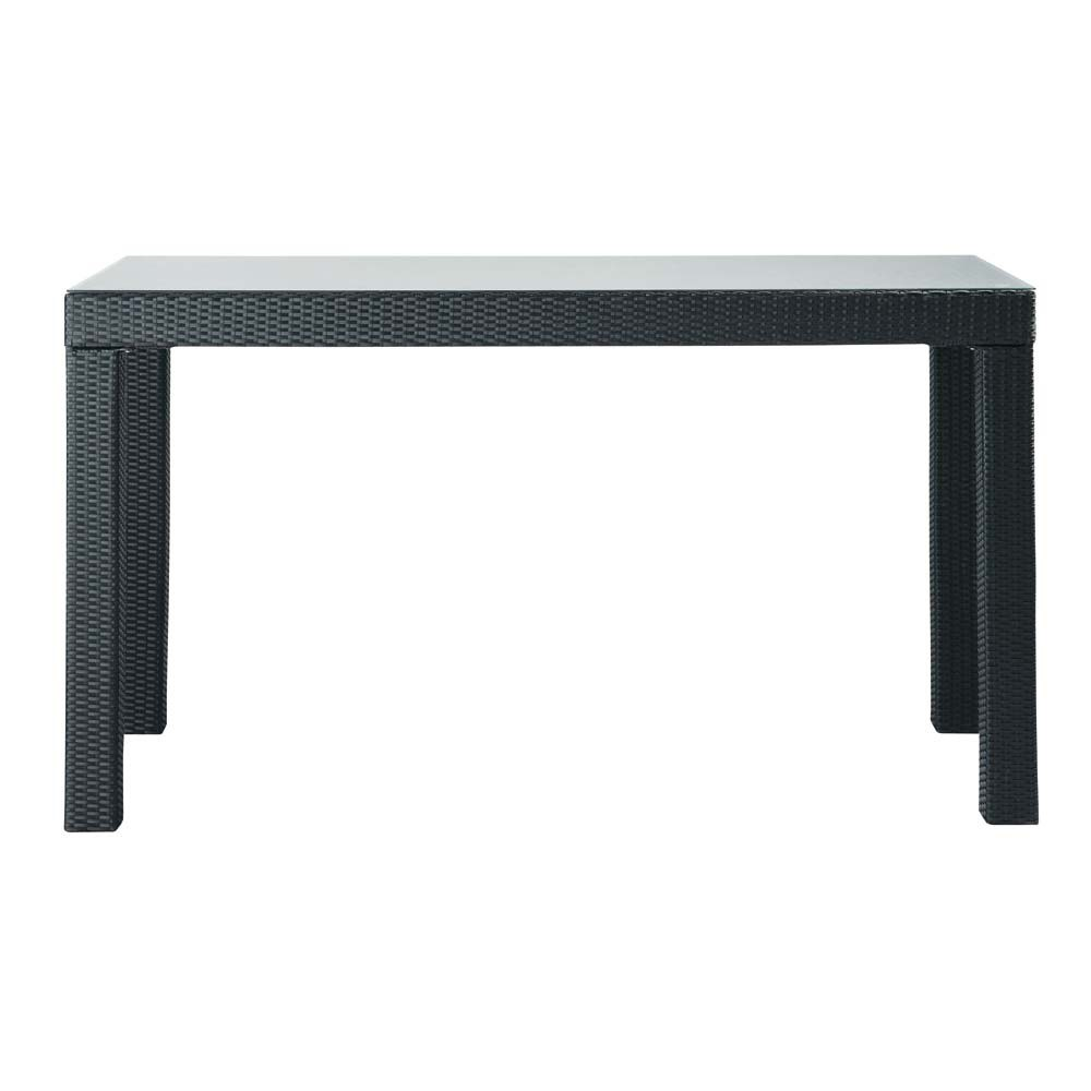 table de jardin haute rectangulaire miami maisons du monde. Black Bedroom Furniture Sets. Home Design Ideas