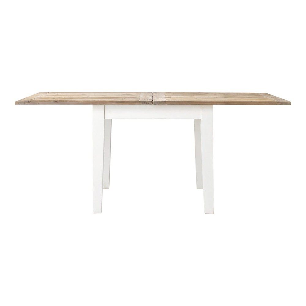 Table de salle manger rallonges en bois l 90 cm for Table a manger en bois